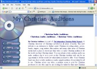 My Christian Auditions - Post your audio or video